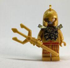 ATLANTIS GOLD TEMPLE STATUE POSEIDON  the Lego Movie PHOTOS PLAYS in LOVELY BOX