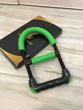 Golden Grip Forearm Wrist Arm Strengthener Workout - Green See Described