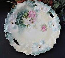 Lovely RS Prussia decorative Cake Plate Carnation Mold