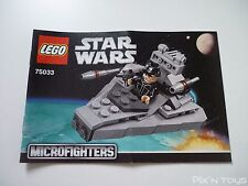 LEGO Notice Instruction / 75033 Star Wars Microfighters Star Destroyer