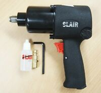 "SLAIR 1/2"" Twin Hammer Professional Air Impact Wrench Max Torque 950ft/lb XX-231"