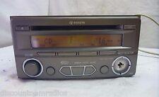 12 Toyota Yaris Sat Ready Radio Cd Mp3 WMA Player T1810 PT546-52111 JP18180