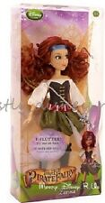 """Disney Store Pirate Fairy Zarina 10"""" Toy Doll Flutter Wing Tinker Bell Movie New"""