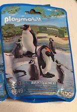 PLAYMOBIL Zoo Animals  6649  Penguins 6 Pcs FREE Ship US!