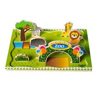 Eliiti Wooden Puzzle 3D Animals for Kids Toddlers 3 to 5 Years Boys Girls Toy
