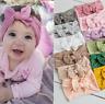 Fashion Newborn Toddler Girl Baby Kid Bow Rabbit Hair Band Turban Chic Headband