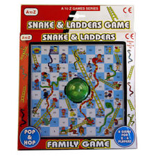 Pop and Hop Traditional Snakes and Ladders Childrens Kids Family Board Game Toy