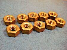 Nov 10130379 011 Brass Hex Nut 516 24 X Qty Of 10
