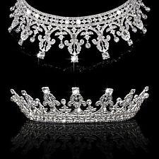 Trendy Vintage Wedding Bridal Headband Crown Tiara Pageant Prom Hair Jewelry