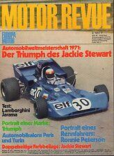 Motor Revue Winter 1971-72 Triumph,Lamborghini German Auto Magazine 051617nonDBE
