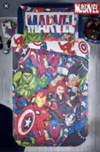 Marvel Avengers Single Duvet Cover For Next