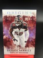 2020 Panini Origins Shaquil Barrett FOTL Purple Buccaneers SSP Out Of /17