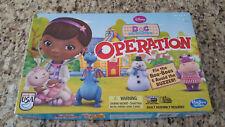 Disney Doc McStuffins Operation Game #02 - 2013 Hasbro - Never Used!