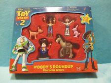 BNIB Mattel Disney Toy Story 2 - Woodys Roundup Character Figures Pete - Giftset