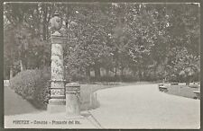 Firenze Cascine Piazza della Repubblica 1910 Divided Back PC in Collotype UNUSED