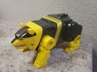 1995 MIGHTY MORPHIN POWER RANGERS Deluxe Ninja Zord Yellow Bear Bandai