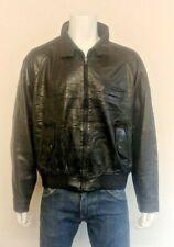 Ralph Lauren Polo Soft Feel 100% Leather Harrington style jacket Men's Size L