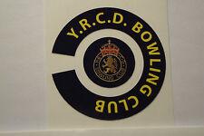 Y.R.C.D. BOWLING CLUB  16 CROWN GREEN  BOWLS STICKERS 8 FINGER + 8 THUMB
