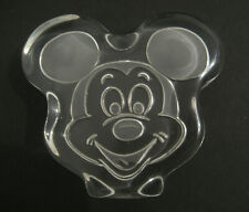 Mickey Mouse Vintage Glass Paperweight