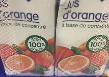 lot revendeur destockage PaletteDe 8 Litres De Jus D Oranges Petit Prix