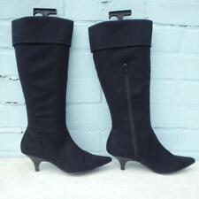 Next Boots Size Uk 4 Eur 37 Womens Ladies Pull on Pirate Black Boots Christmas