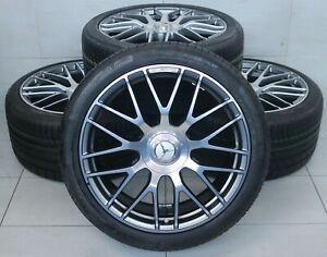 Original Mercedes AMG GT GTS C190 R190 SLS W197 C197 19 /20 Zoll Sommerräder