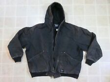 Used WALLS Blizzard Pruf JACKET Mens XL 46-48 Canvas Black Work Wear Ranch Chore