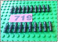 719 LEGO Part 2780 Technic, Pin with Friction Ridges Lengthwise x 20 Pieces