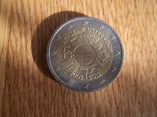 2 Euro Münze Österreich 10 Jahre  Euro von 2002-2012 Eurobargeld