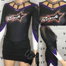 Real Cheerleading Uniform  Rockstar  Allstars Youth L