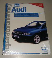 Reparaturanleitung Audi A3 1,9 liter TDI Typ 8L mit Quattro, Baujahre 2000-2004