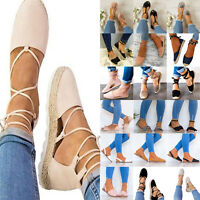 Womens Gladiator Sandals Slingbacks Summer Shoes Ballerinas Espadrilles Sandals