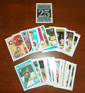 1992-93 O-Pee-Chee 25th Anniversary 26-Card Complete Set
