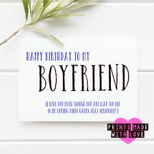 Funny boyfriend card humour joke comedy | gamer | PS4 fan | xbox  | video game