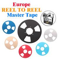 "Vintage REEL To REEL 10"" Master Tape for Europe STUDER TELEFUNKEN REVOX NAGRA"