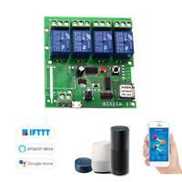 eWeLink Smart Remote Control Wireless Switch Universal Module 4ch DC 5V Wifi