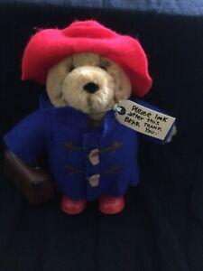 Paddington Bear Soft Toy With Suitcase