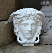 "Medusa Versac Rondanini Bust design Artifact Carved Sculpture Statue 7"" wall dec"