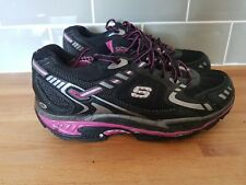 Sketchers Shape Ups Toners Running Athletic Shoes Pink Black Size 6 Only Worn 2x