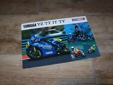 Prospectus /  Brochure YAMAHA YZ /  TT / IT / TY 1987 //