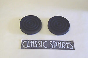 FX4 LONDON TAXI AUSTIN ROUND CLUTCH AND BRAKE PEDAL RUBBERS NEW PAIR C724