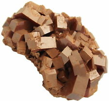 Vanadinite Mineral Specimen 74 grams Crystal Cluster 1 1/2 x 1 1/2 x 1 - VAN058