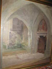 BECKER-GUNDAHL Carl Johann, *1856 Schloss Gewölbe