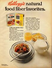 1976 Vintage ad for Kellogg's All-Bran/Bran Buds Cereal (060713)
