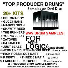 TOP 21 SAMPLE Kits for APPLE LOGIC and GARAGEBAND WAV Sounds Producer pack