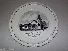 VINTAGE 1955 BELLVUE REFORMED CHURCH SCHENECTADY NY SOUVENIR COLLECTOR PLATE