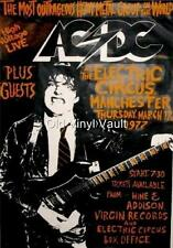 AC/DC-The Electric Circus,Manchester,UK,1977 vintage concert poster