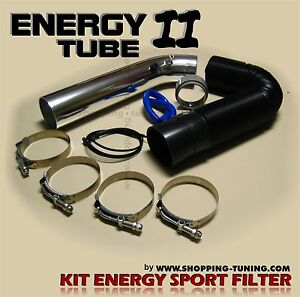 KIT DE MONTAGE FILTRE TUBE INOX ADMISSION DIRECTE AIR MG TF ZR ZS ZT RD