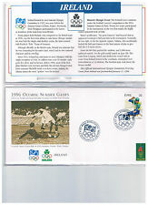 1996 Olympic 1st first day cover nearly complete set ( lot ) 96 dif countries