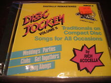 DISC JOCKEY TRADITIONALS VOL 2 (ALL OCCASIONS) RMCD-2 ROCK'N MANIA SEALED